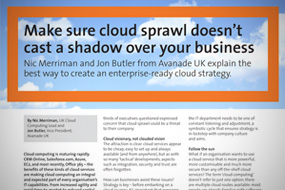 Avanade Advertorial for the Guardian