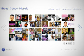 GE Healthcare Breast Cancer Mosaic