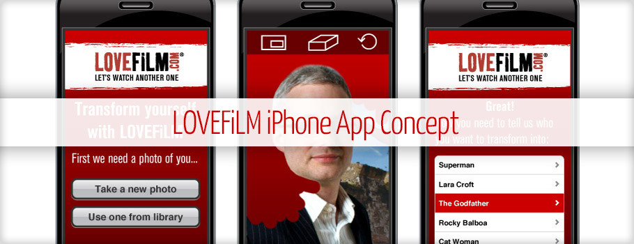 LOVEFiLM iPhone App Concept