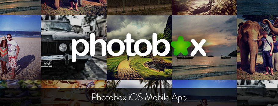 Photobox iPhone & iPad App Design